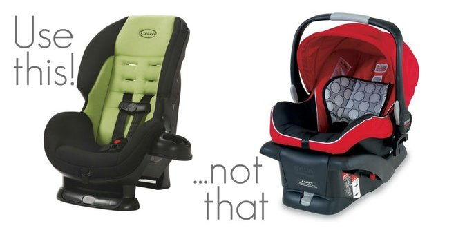 Convertible Car Seat vs Infant Seat